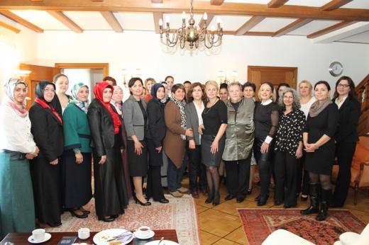 Başkonsolosluk Konutunda, Dünya Kadınlar Günü kutlandı.