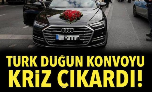 Hollandada Türkiye usulü düğün konvoyuna binlerce euro ceza 85