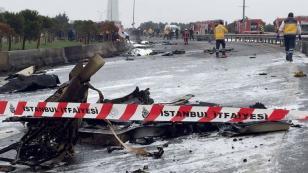 İstanbul'da helikopter düştü; 5 ölü!