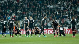Beşiktaş UEFA Avrupa Ligi'ne veda etti
