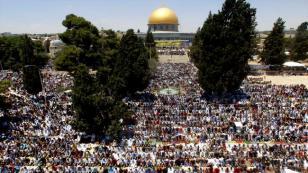 Son Cuma namazına İsrail'den