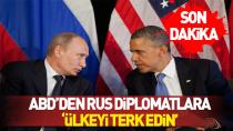 ABD'den Rus diplomatlara sınırdışı!