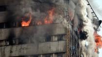 Tahran'da bina çöktü; 30 itfaiyeci öldü!