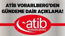 ATİB Vorarlberg'den açıklama