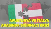 Avusturya ve İtalya arasında sığınmacı krizi