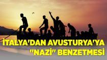 İtalya'dan Avusturya'ya Nazi Benzetmesi