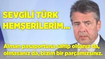 Sevgili Türk hemşerilerim