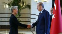 Avusturya Büyükelçisi, Erdoğan'a güven mektubunu sundu