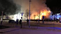 Lauterach'ta korkutan yangın!