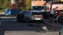 Lustenau'da korkunç kaza!
